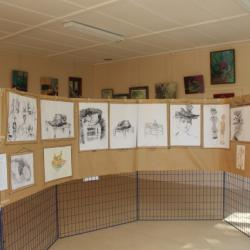 Dessins et aquarelles vus à Dreyfus (juin 2014)