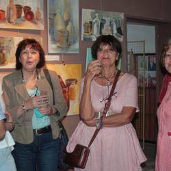 Vernissage à la Bergerie (juin 2015)