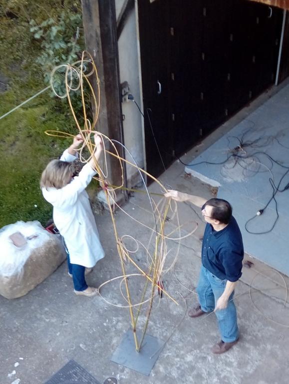 montage des structures mobiles