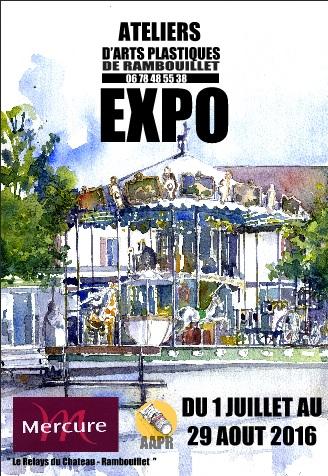 Affiche 2016 Expo AAPR Relays du Château