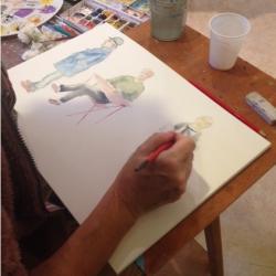 Atelier aquarelle 3eme annee 2