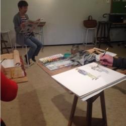 Atelier aquarelle 3eme annee 4