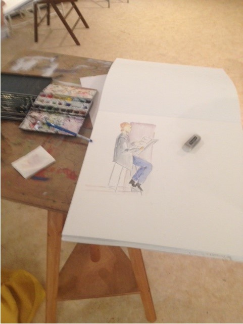 Atelier aquarelle 3eme annee 5