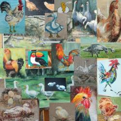 Expo-vente de la St Lubin sur le thème des animaux de la ferme