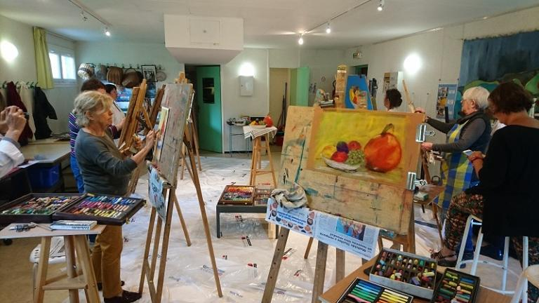 Atelier pastel (de Claudie et Claude Vallepin)