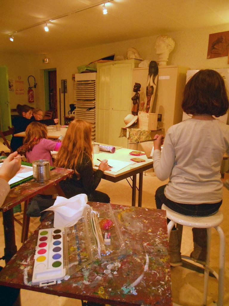 Atelier enfants du mercredi (19 novembre 2014)