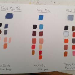 Les palettes de couleurs conseillées