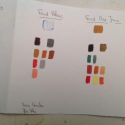 Les palettes de couleurs conseillées (suite et fin)