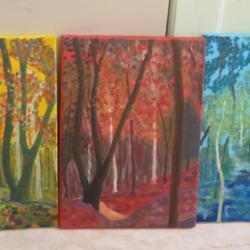 La forêt au travers d'un kaléidoscope