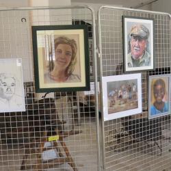 Atelier pastel de Claudie et Claude Vallepin