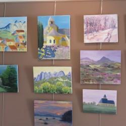 Atelier peinture de Corinne Filhol