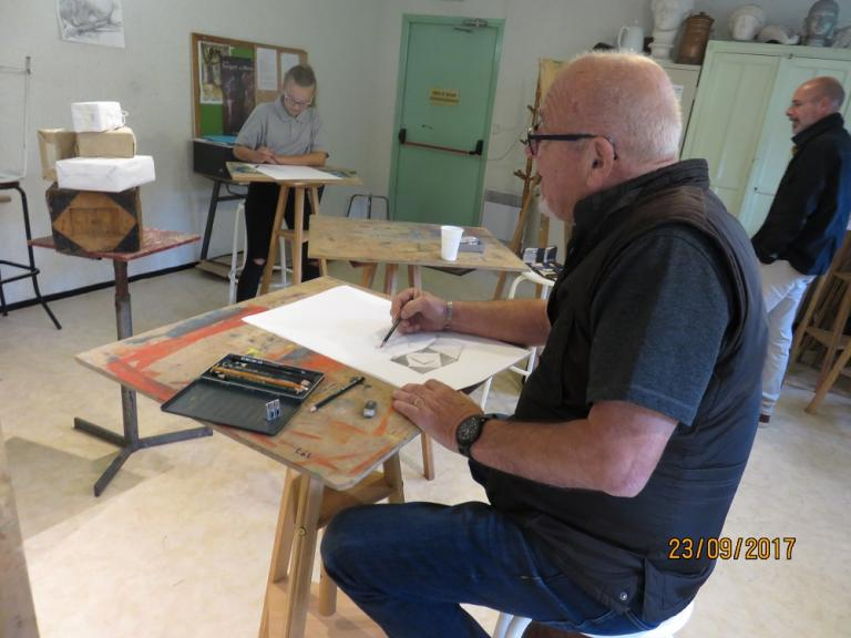 Atelier de dessin du samedi (de Gabriel Rimbault)