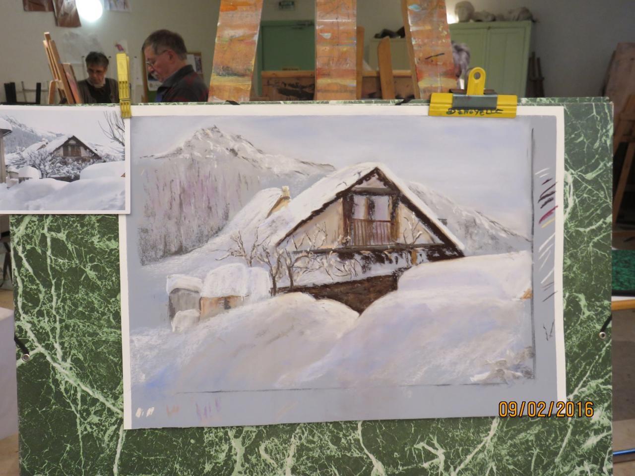 Stage du 9 février 2016 : une pro de la neige !