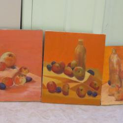 Tous orange, tous différents