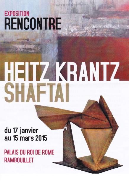 Visite de l'Expo Roi de Rome (Heitz Krantz et Shaftai) (02/2015)