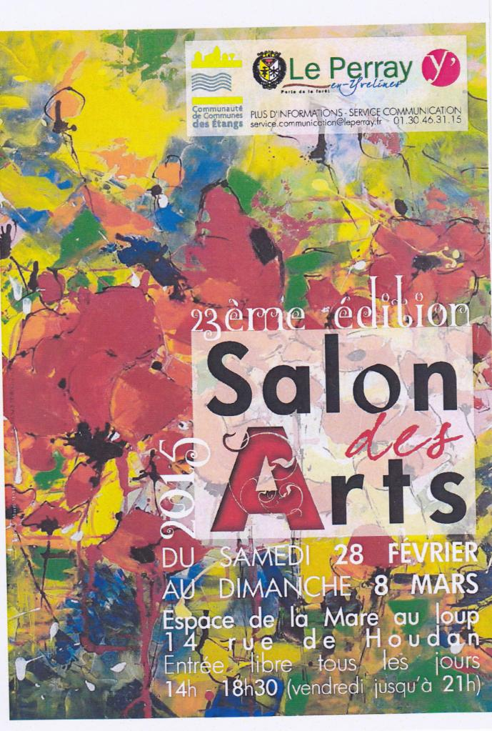 Participation au salon du Perray (Mars 2015)