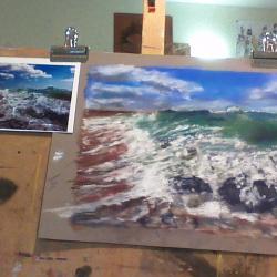 Stage du 22 mars 2016: ocean et marée