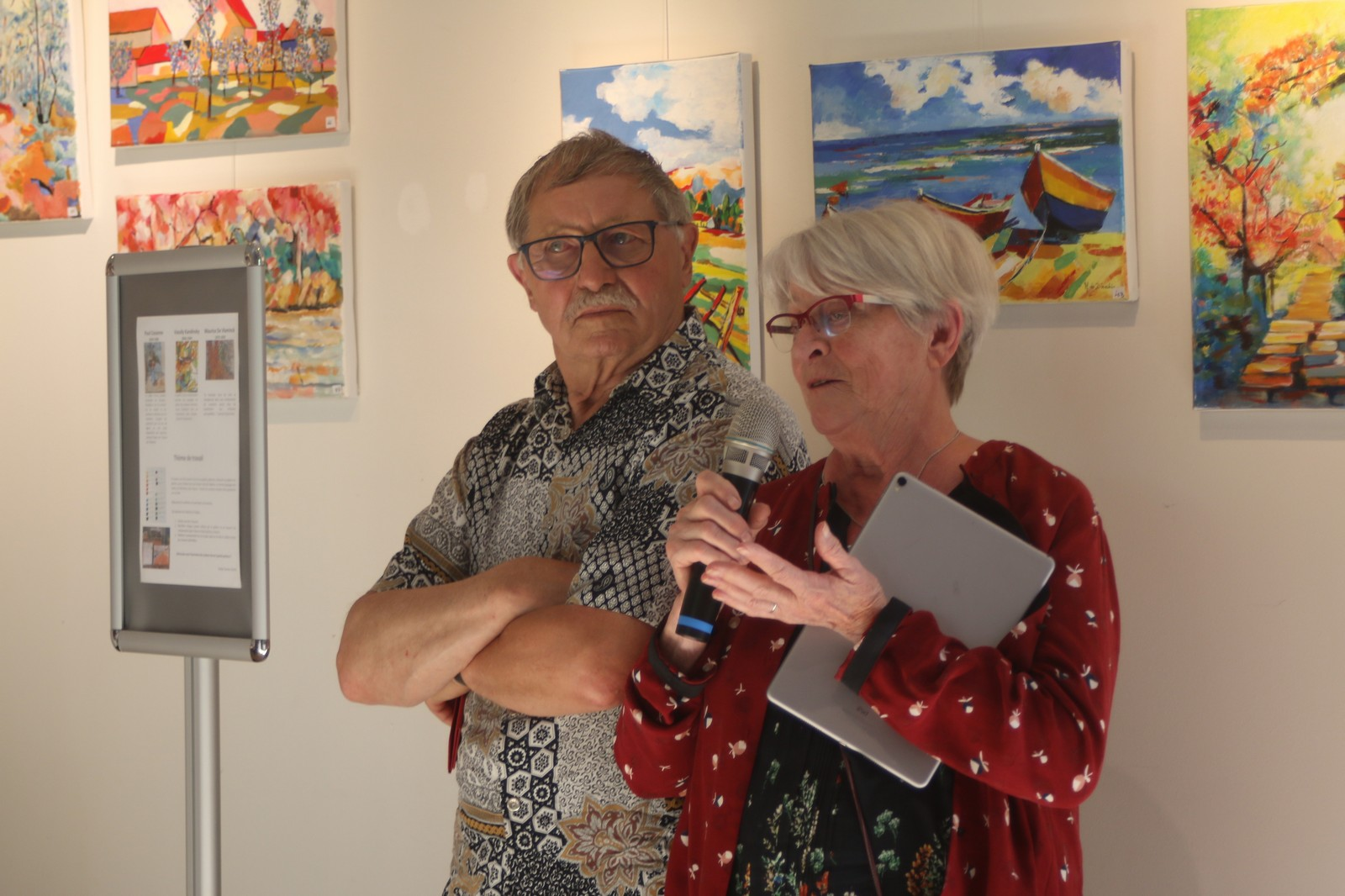 Claudie & Claude Vallepin : nos professeurs de pastel