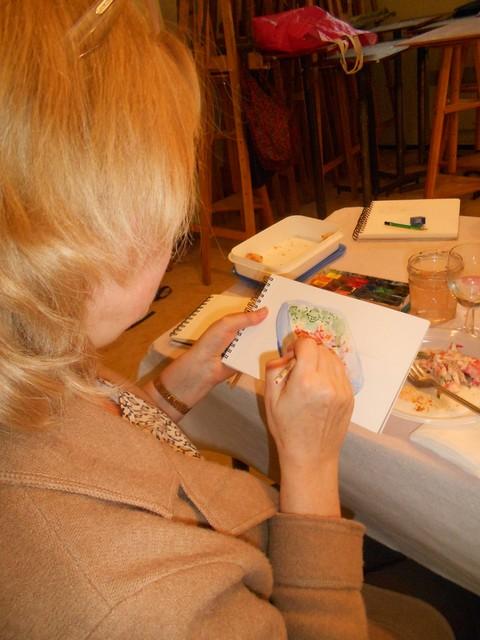 Atelier déjeuner-croquis : Aquarelle, Dessin et Restauration