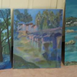 Peinture: études autour de l'Harmonie